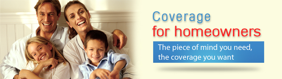 Coverage for homeowners